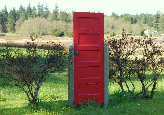 Puerta en el campo